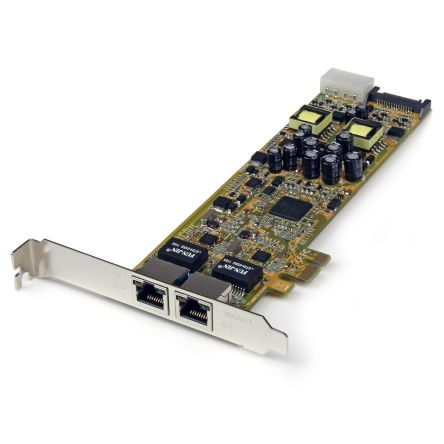 2 Port PCIe Gigabit Network Interface Card product photo
