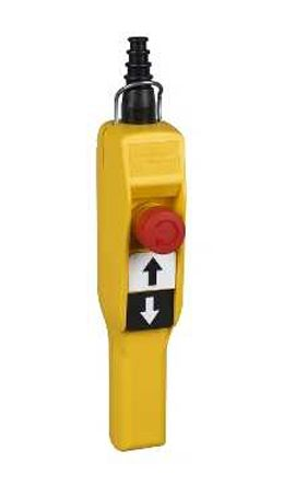 Schneider Electric Screw Clamp 2NO (Push Button), NC (E-Stop) 2 Push Button Pendant Station 1.2 A @ 600 V ac, 100 mA @