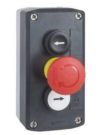 Schneider Electric Harmony XALD 2NO, NC 22mm Control Station Switch, IP66, IP69, IP69K 136mm Grey Polycarbonate 68mm