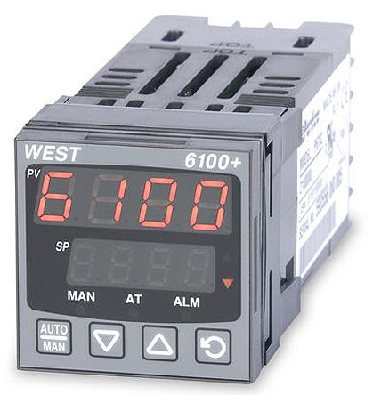 p6100 2 1 1 0 0 0 2 west instruments p6100 din rail pid rh uk rs online com Instruction Manual User Manual PDF