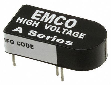 XP Power A02P-5 DC to High Voltage DC Converter 0 → 5 V dc 5mA 200V dc
