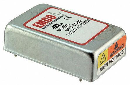 XP Power CA20P DC-High Voltage DC Non-Isolated Converters 1 500μA 2kV 1W