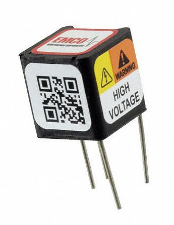 XP Power Q02-5 DC to High Voltage DC Converter 0 → 5 V dc 2.5mA 200V dc