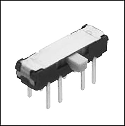 Through Hole Slide Switch DP3T Latching 300 mA Slide product photo
