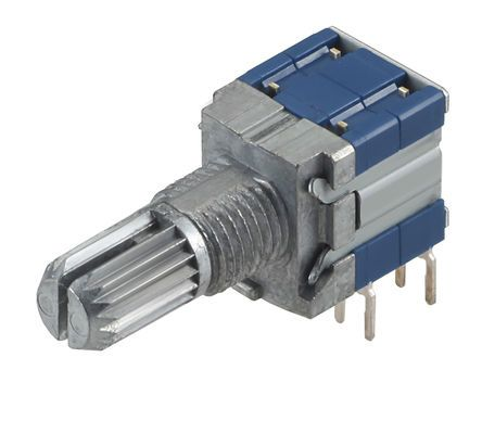 Rotary Switch, 2 Way 0.9 mm, Pc Pin
