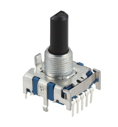 Alps Alpine, 3 Position SP3T Rotary Switch, 300 mA, Pc Pin product photo