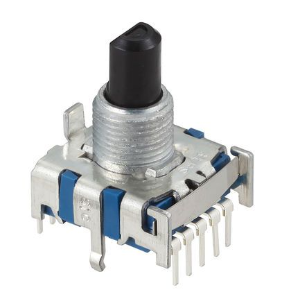 Alps Alpine, 4 Position SP4T Rotary Switch, 300 mA, Pc Pin product photo