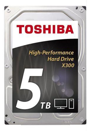 Disco duro interno Toshiba 5 TB, SATA, 3.5plg, 7200 RPM, HDWE150EZSTA
