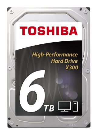 Toshiba 内蔵ハードディスク, 容量 6 TB, 7200 RPM, HDWE160EZSTA