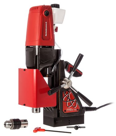 Rotabroach Element 40/1 110V Magnetic Base Drill, 300 (Low Gear) rpm, 600 (High Gear) rpm