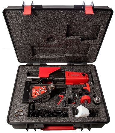 Rotabroach Element 40/2 230V Magnetic Base Drill, 300 (Low Gear) rpm, 600 (High Gear) rpm