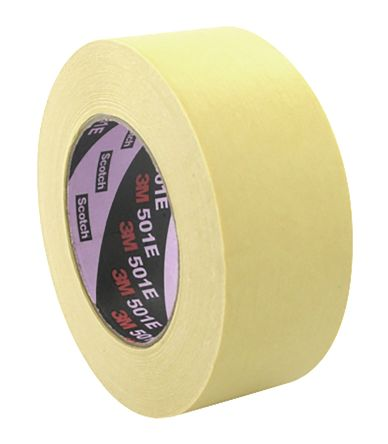 244 50mm X 50m 3m 244 Gold Masking Tape 50mm X 50m 3m