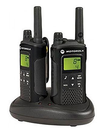 Walkie Talkies Motorola XAP0085BDGAA, 8 canales, Display LCD, 446MHz