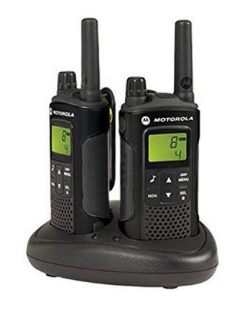 Walkie Talkies Motorola XAP0086BDGAA, 8 canales, Display LCD, 446MHz