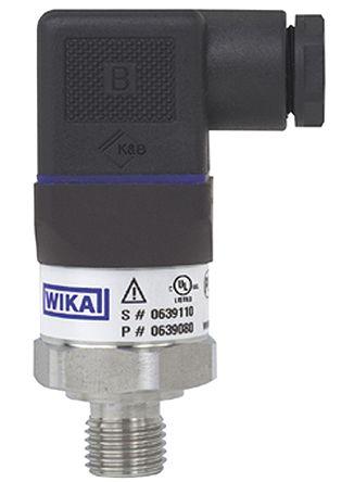 Transductor de presión Wika 14145774 8-36VDC 0-400bar MH-2-W-BBS 14145774 Nuevo *