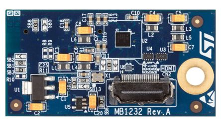 STMicroelectronics B-LCDAD-HDMI1, MIPI/DSI to HDMI Adapter Board for ST  Discovery Kits