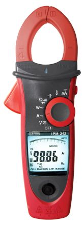 RS PRO Power Meter, Absolute Maximum Power Measurement 600kW, Absolute Maximum AC Current Measurement 600A ac