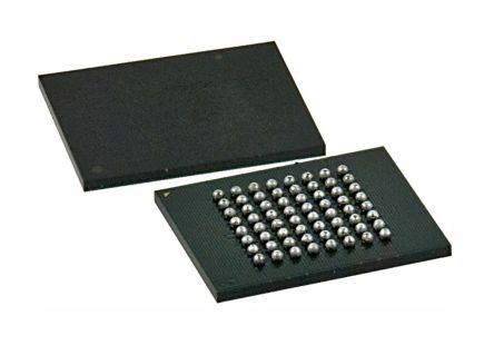 Cypress Semiconductor S29GL128P90FFIR20, CFI 128Mbit Flash Memory, 110ns, 64-Pin FPBGA