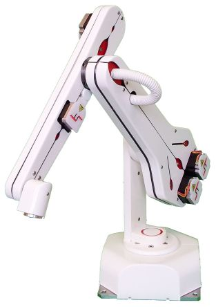 ST Robotics R12-5-E1, 5-Axis Robotic Arm with Electric 2 Finger Gripper