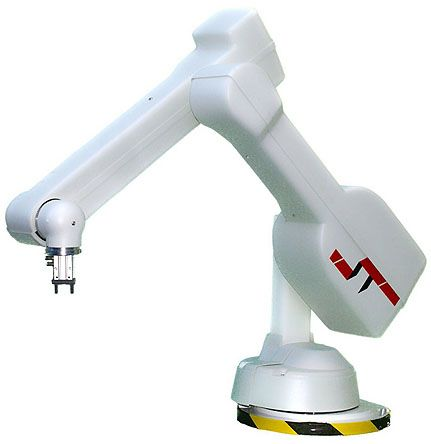 ST Robotics R17-5-PG17, 5-Axis Industrial Robot Arm with Pneumatic Parallel Gripper