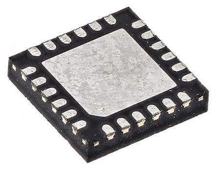 Cypress Semiconductor CY7C65211-24LTXI, USB Controller, 12Mbps, USB 2 0,  1 8 V, 3 3 V, 24-Pin QFN