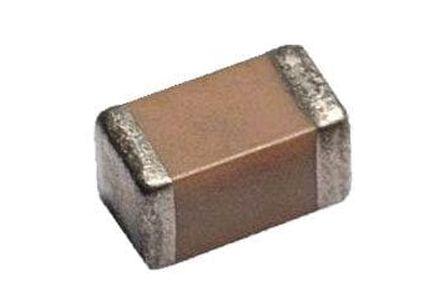AVX 0402 (1005M) 1nF MLCC 50V dc ±10% SMD 04025C102KAT2A