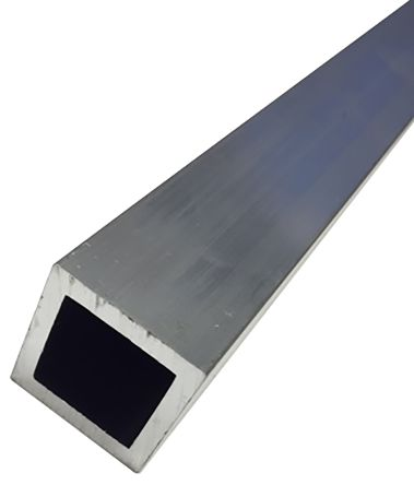 6082-T6 Square Aluminium Tube, 1m x 50mm product photo