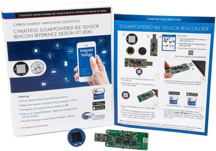 Cypress Semiconductor 高周波回路 開発キット Solar-Powered Beacon