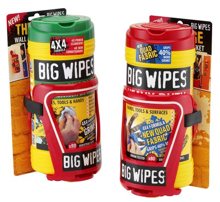 Big Wipes Polycarbonate Red Wall Mounting Paper Towel Dispenser