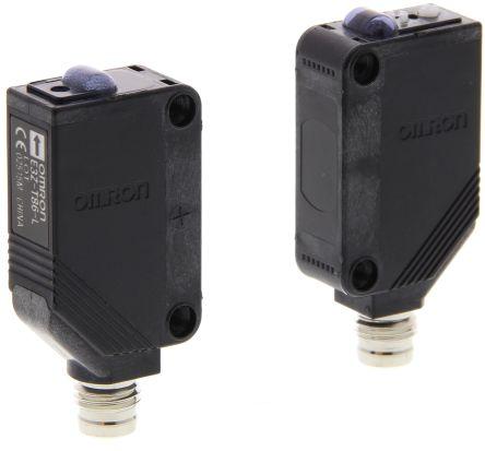 Omron Through Beam (Emitter and Receiver) Photoelectric Sensor 15 m Detection Range PNP IO-Link IP67 Block Style