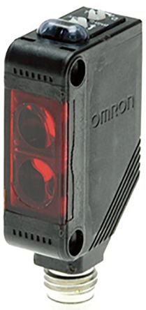 Omron Diffuse Photoelectric Sensor 120 mm Detection Range PNP IO-Link IP67 Block Style E3ZL86IL3OMS