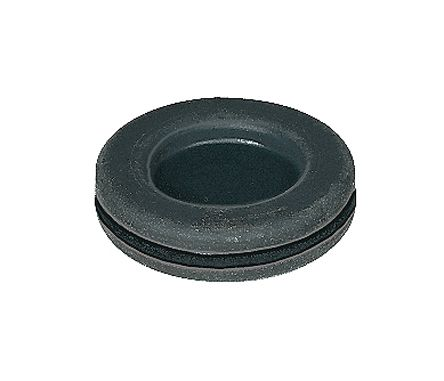 Cable Management 25 Closed Rubber Grommets to fit a 12.5mm Hole 1.5mm Thick