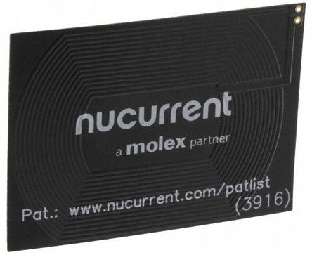 Molex Wireless Charging Receiver Coil, Copper, 520mΩ, 23 Q Factor