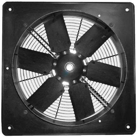 Heavy Duty Plate fan 250mm 4 pole 230V