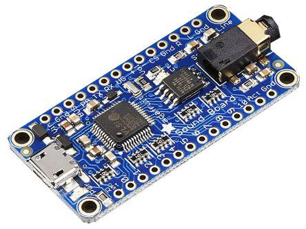 Adafruit 2133, Sound FX Audio Processor Application Board