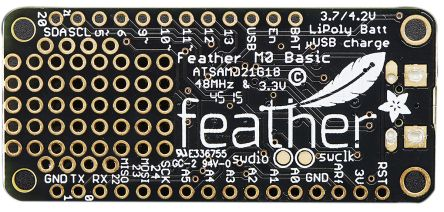 ADAFRUIT Feather M0 Basic Proto MCU Development Board with ATSAMD21G18 -  2772