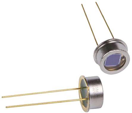 Hamamatsu S1223 IR + Visible Light Si PIN Photodiode, Through Hole TO-5