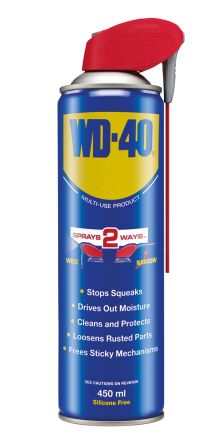 WD-40 Lubricant 450 ml WD-40 Smart Straw Aerosol