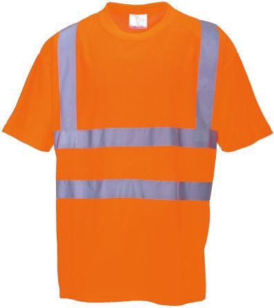 RS PRO Orange Unisex Hi Vis T-Shirt, XL