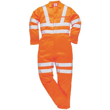 Orange Reusable Coverall, XL product photo
