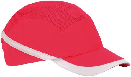 Cotton ABS Red Standard Peak Bump Cap product photo