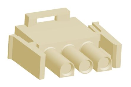 2178473-2 - Male Connector Housing - Universal MATE-N-LOK, 6.35mm Pitch, 3 Way, 1 Row product photo