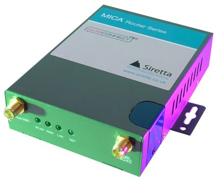Siretta 2G 3G 4G Router, LAN, SIM Connection, 1 x SIM, 2 x LAN ports  150Mbit/s - LTE Modem Type