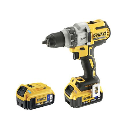 DeWALT XR Brushless Keyless 18V Cordless, UK Plug