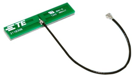 2118309-1 TE Connectivity - PCB WiFi (Dual Band)  Antenna, Adhesive Mount, (2400 → 2483.5, 4900 → 5875