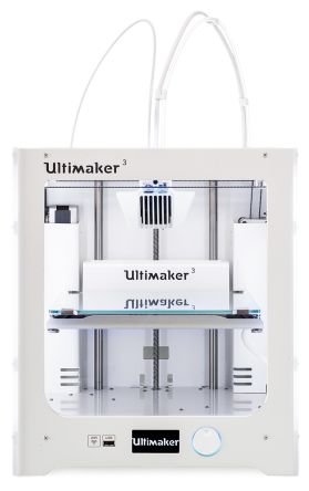Ultimaker 3 Dual Nozzle 3D Printer