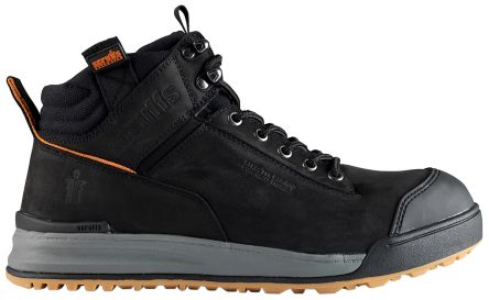 5051136f684 Scruffs Switchback Black Steel Toe Men Safety Boots, UK 7, US 8