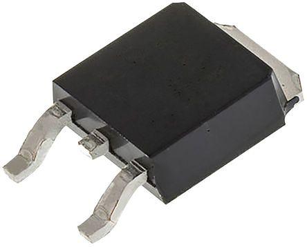 Littelfuse, MCR12DSMT4G, Thyristor, 600V, 300μA 3-Pin, DPAK (TO-252)