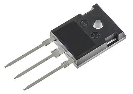 Toshiba Nチャンネル パワーMOSFET MOSFET 61.8 A スルーホール パッケージTO-247 3 ピン, TK62N60W5,S1VFS