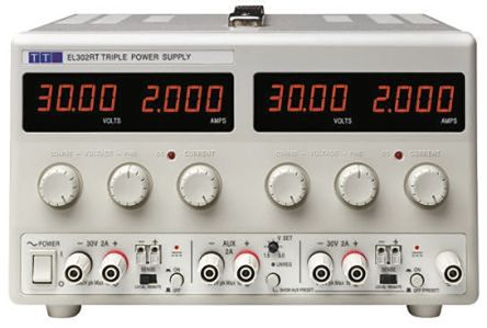 Aim-TTi EL302RD Digital Bench Power Supply, 2 Output 0 → 30V 0 → 2A 120W